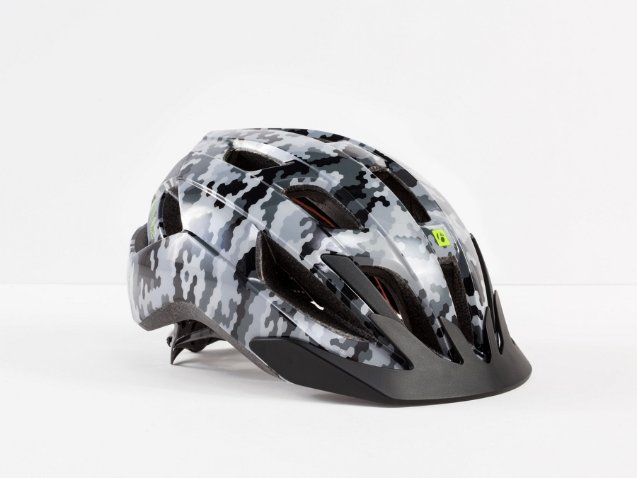 Bontrager Helm Solstice Youth Grey Camo CE