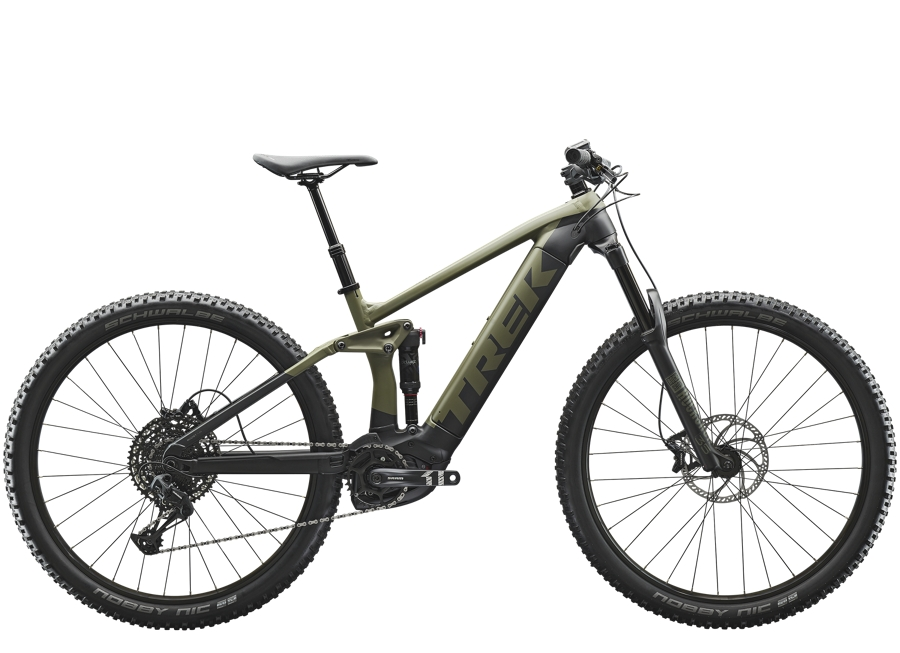 Trek Rail 5 625Wh L Matte Olive Grey/Trek Black
