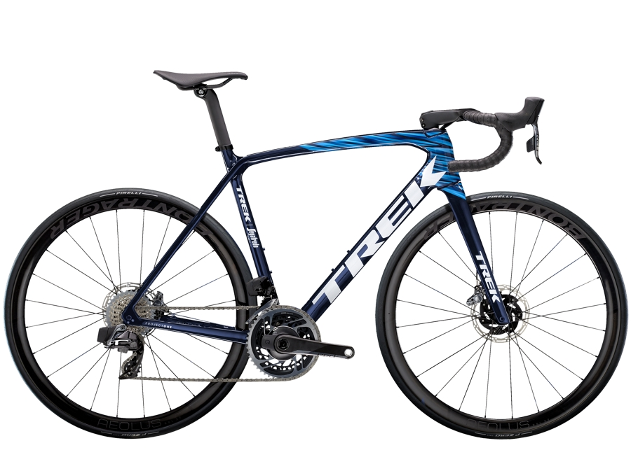 Trek Émonda SLR 9 eTap 58 Navy Carbon Smoke/Blue