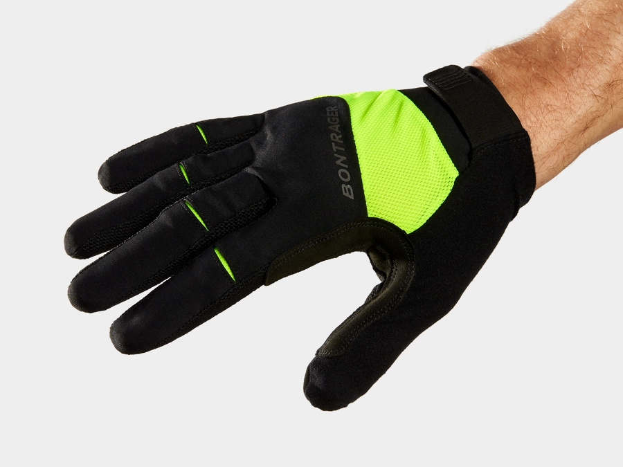 Bontrager Glove Circuit Full-Finger MD Radioactive Yellow
