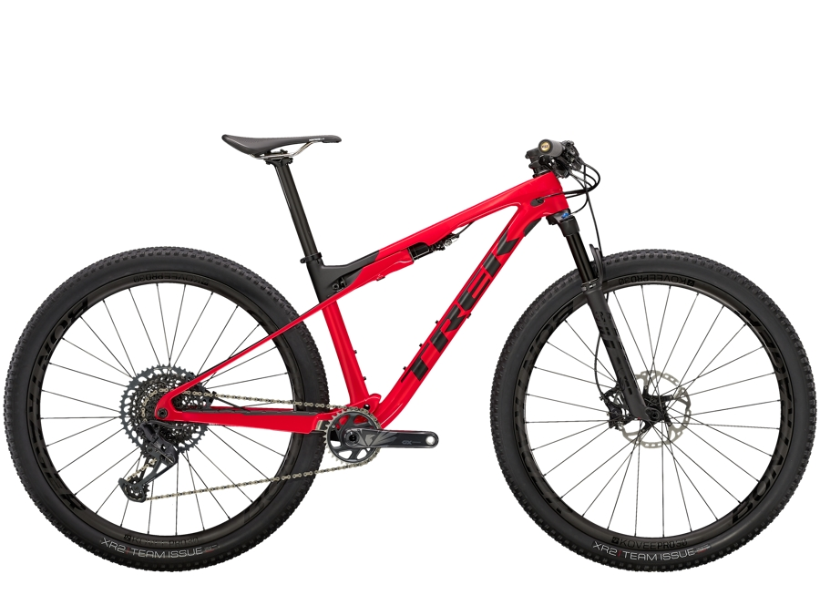 Trek Supercaliber 9.8 GX ML Gloss Radioactive Red/Matte Black