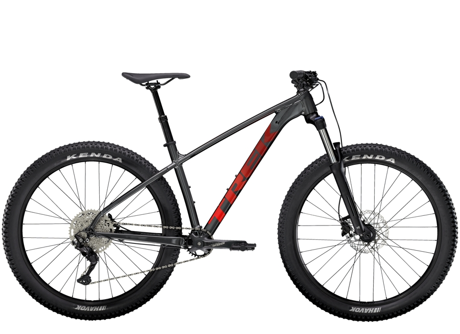 Trek Roscoe 6 L Lithium Grey/Cobra Blood