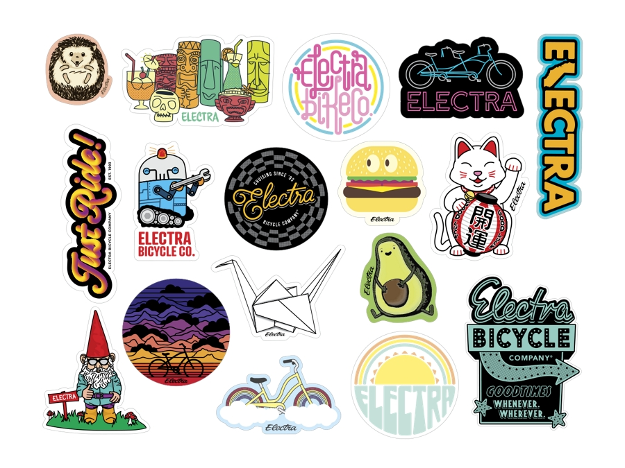 Electra Decal Sticker Pack 3.0