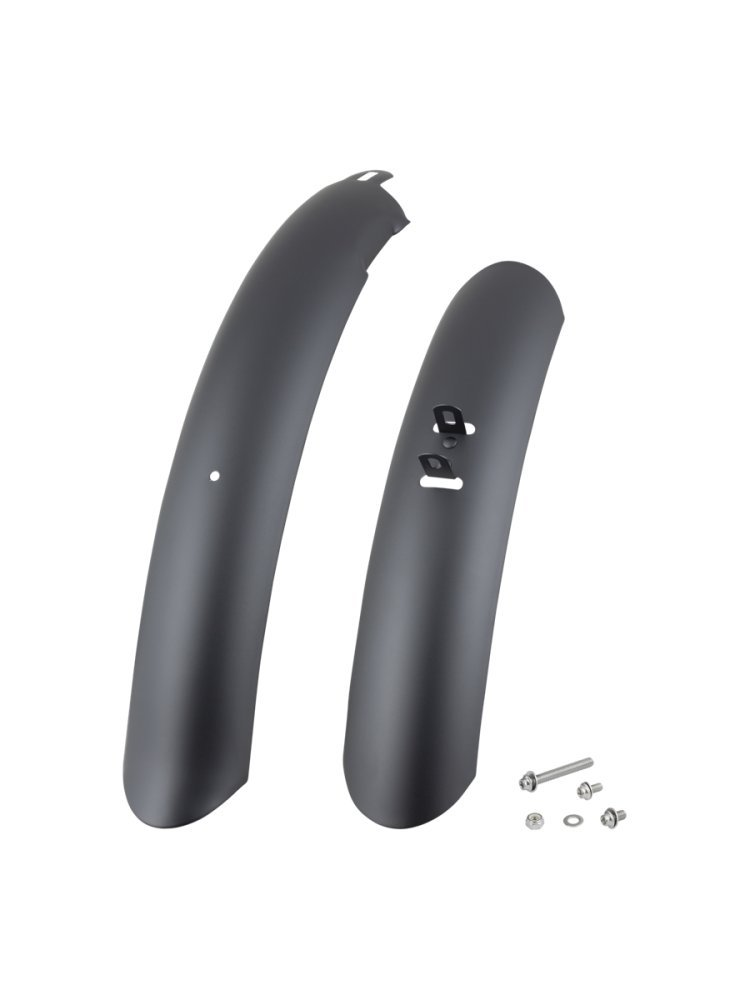 Electra Fender Cruiser Stubby 26 Steel Men Matte Black Set