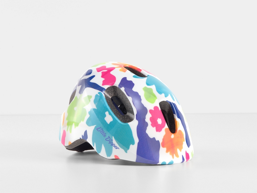 Bontrager Helm Little Dipper MIPS Floral Pearl CE