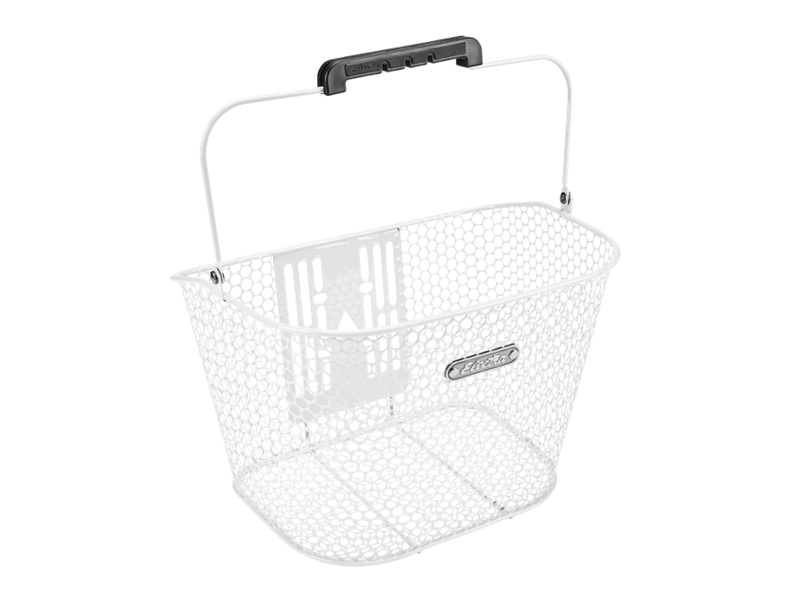 Electra Basket Honeycomb QR White Front