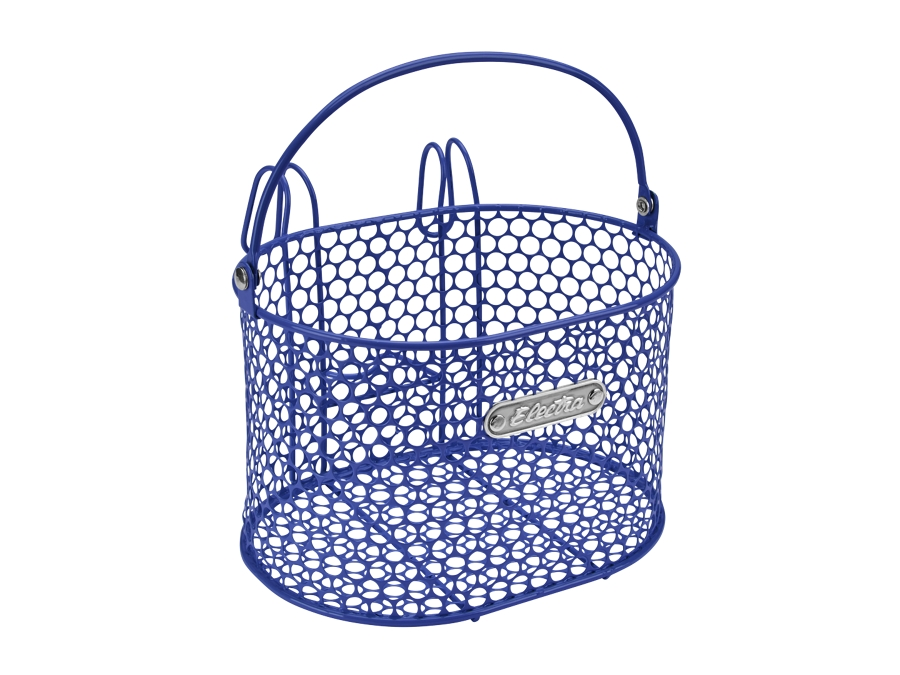 Electra Basket Honeycomb Small Hook Reflex Blue Front