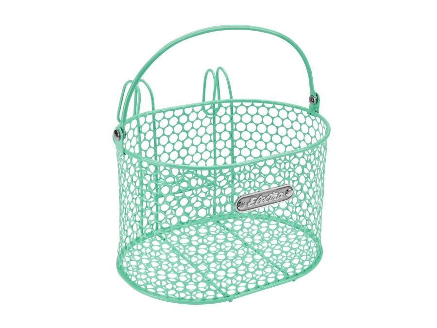 Electra Basket Honeycomb Small Hook Mint Green Front