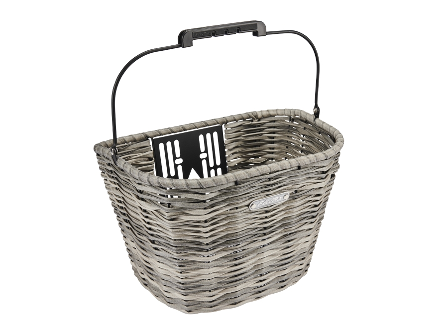 Electra Basket All Weather Woven QR Fog Front