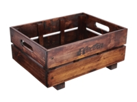 Electra Basket Crate MIK Pine Brown