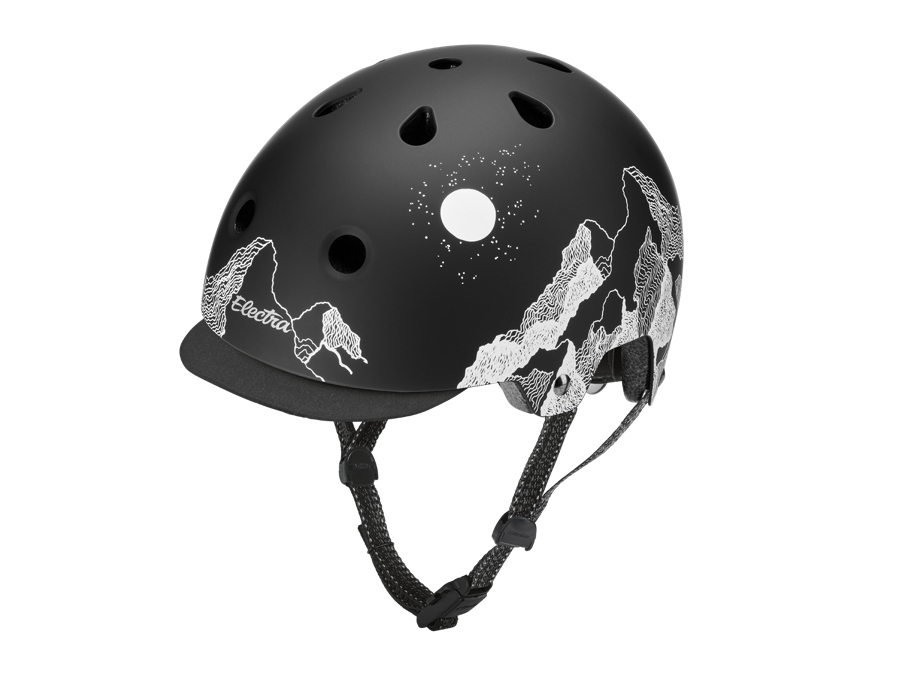 Electra Helmet Lifestyle Lux Mountain Sky Small Black CE