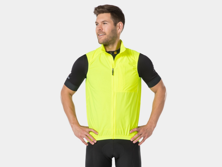 Bontrager Weste Circuit Windshell S Visibility Yellow