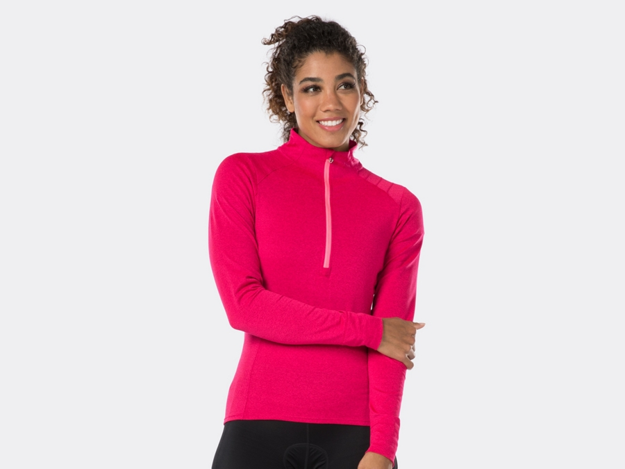 Bontrager Trikot Vella Thermal Long Sleeve XS Vice Pink