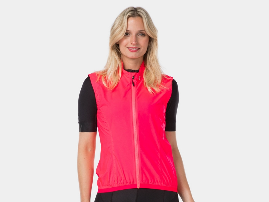 Bontrager Vest Circuit Wind Women Small Radioactive Pink