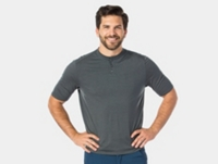 Bontrager Shirt Adventure Henley Small Dnister Black
