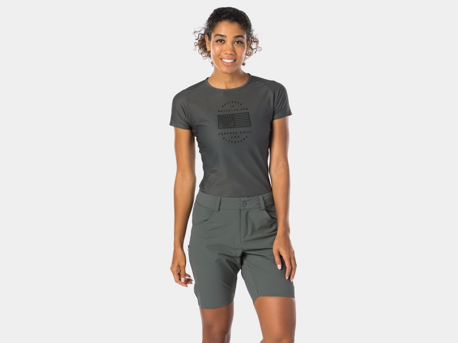 Bontrager Short Adventure Cycling Women Large Dnister Black